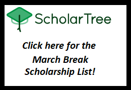 Scholar Tree March Break List