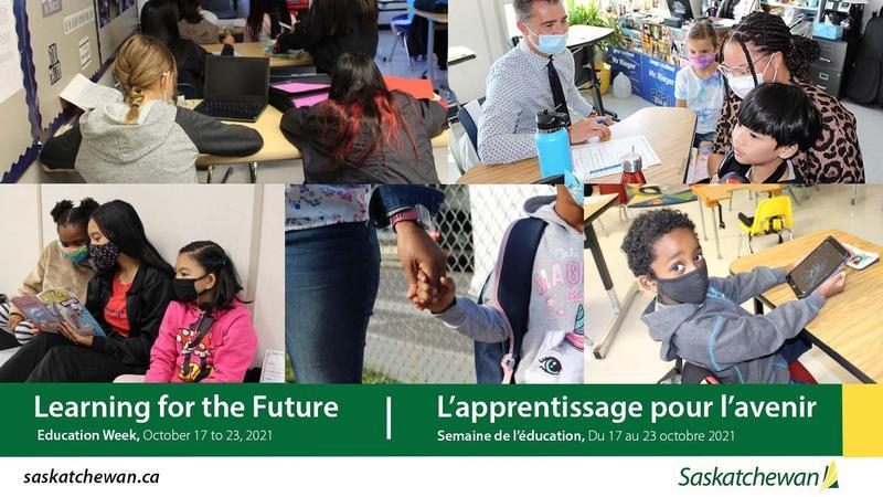 October 17 to 23 is Education Week in Saskatchewan Featured Photo