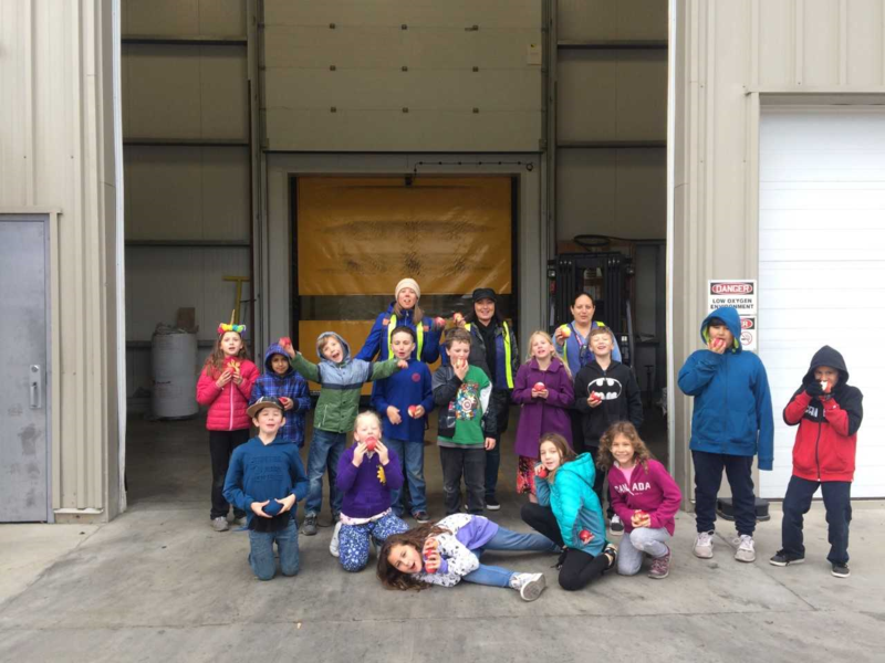 A trip to Cawston Cold Storage. Featured Photo