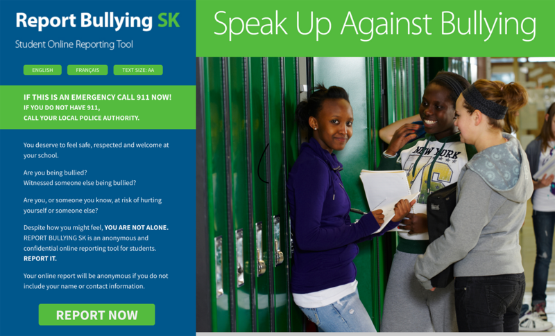 Report Bullying Featured Photo