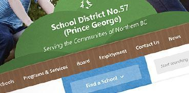 School District Website Canada