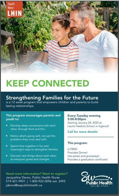 SWPH Strengthening Families for the Future Program in Ingersoll