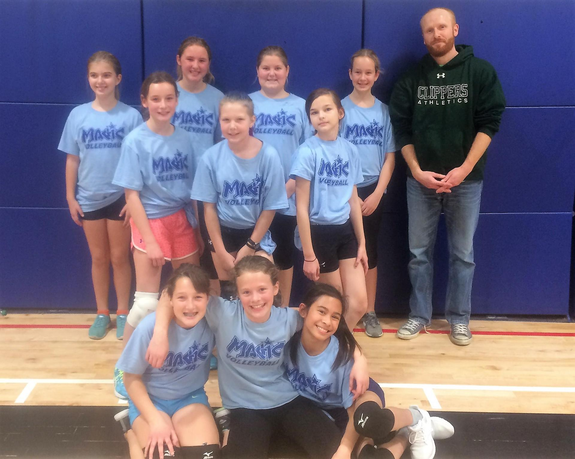 Grade 6 Girls Team A