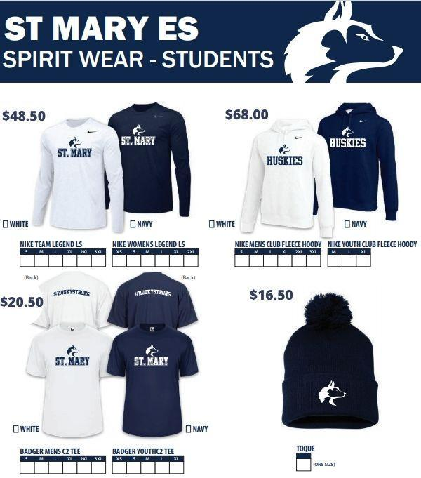 Spirit Wear is Now Available through School Cash Online! Featured Photo