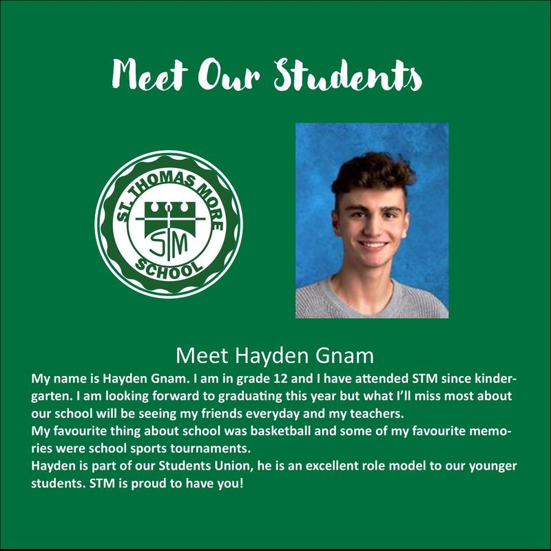 Meet Our Students- Hayden Gnam Featured Photo
