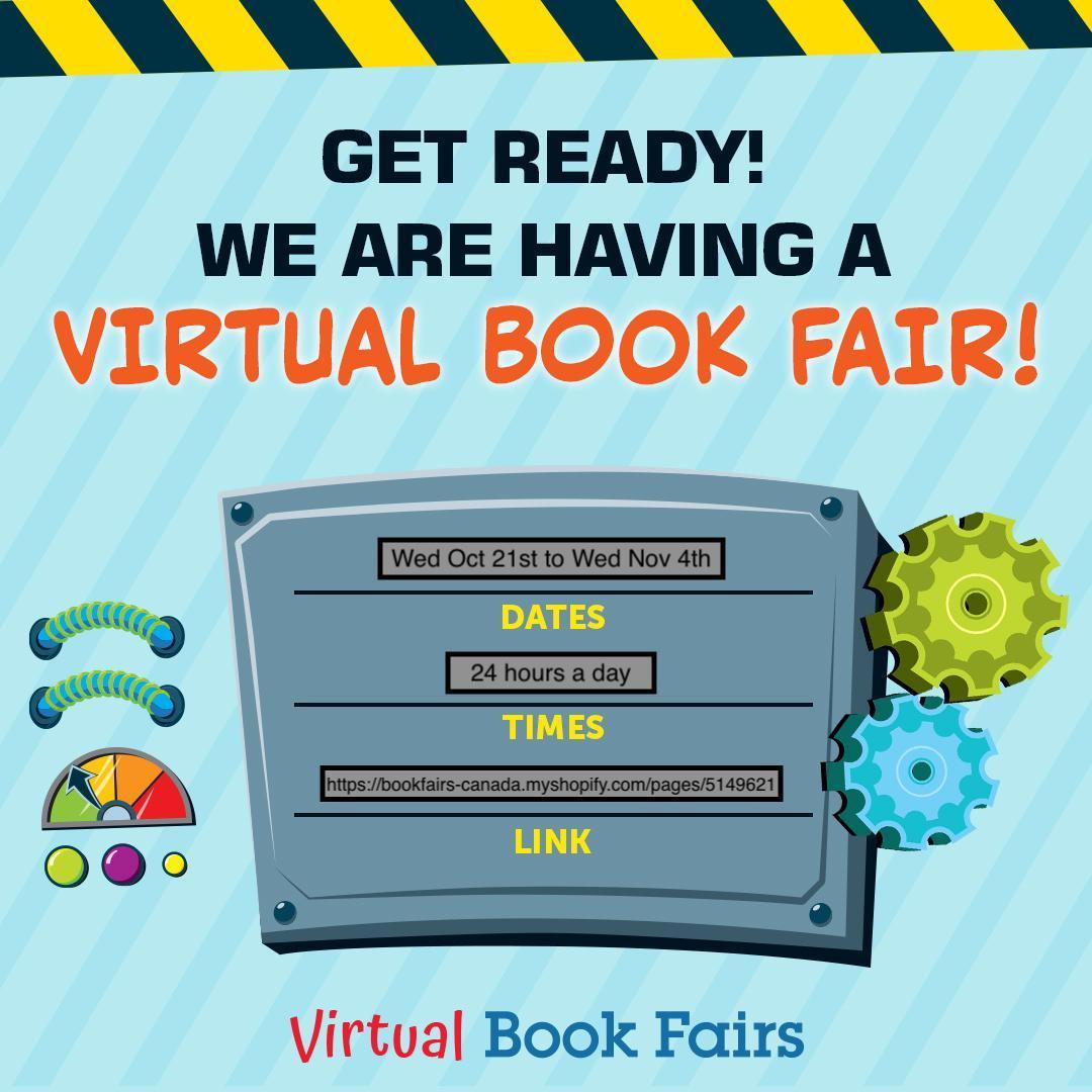 Virtual Book Fair countdown