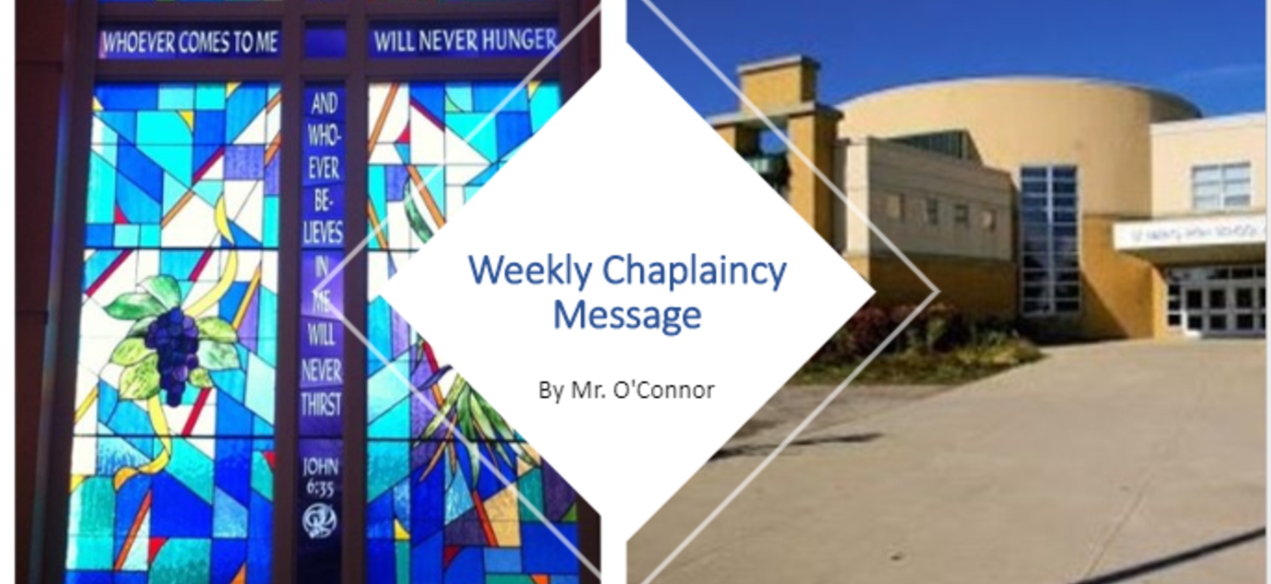 Weekly Chaplaincy Message