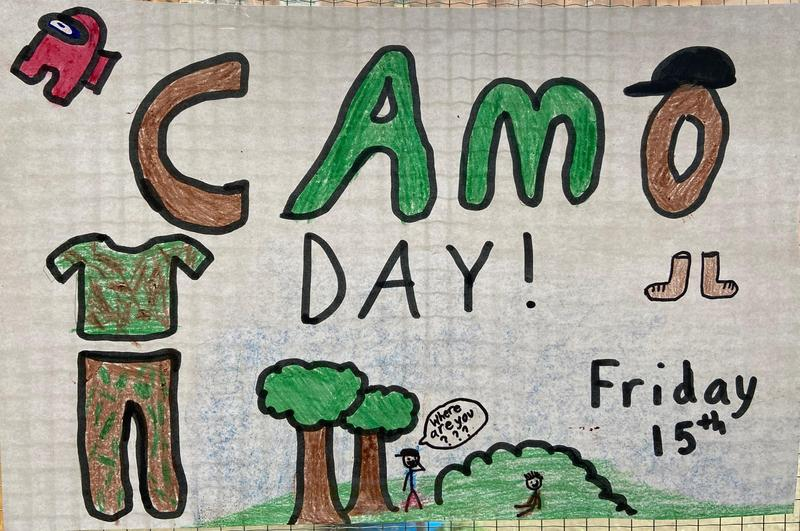 Friday, October 15th - Camo Day Featured Photo