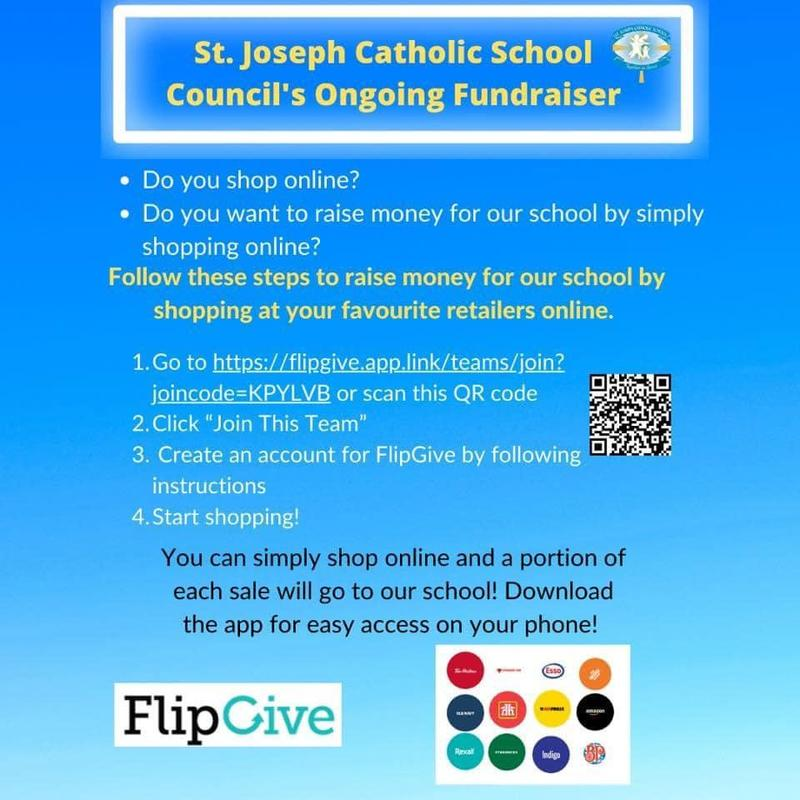 St. Joseph Catholic School Council FlipGive Fundraising Featured Photo
