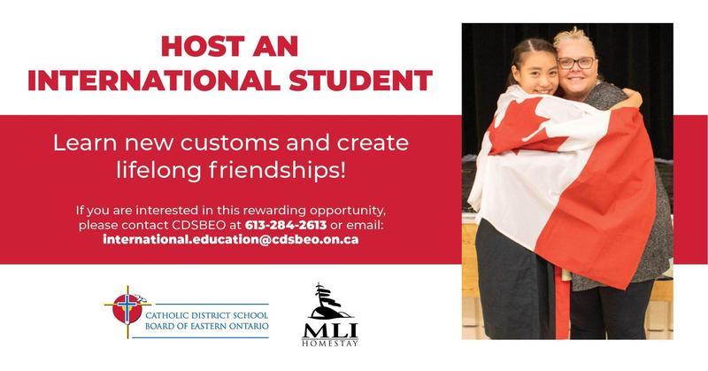Host an International Student! Featured Photo