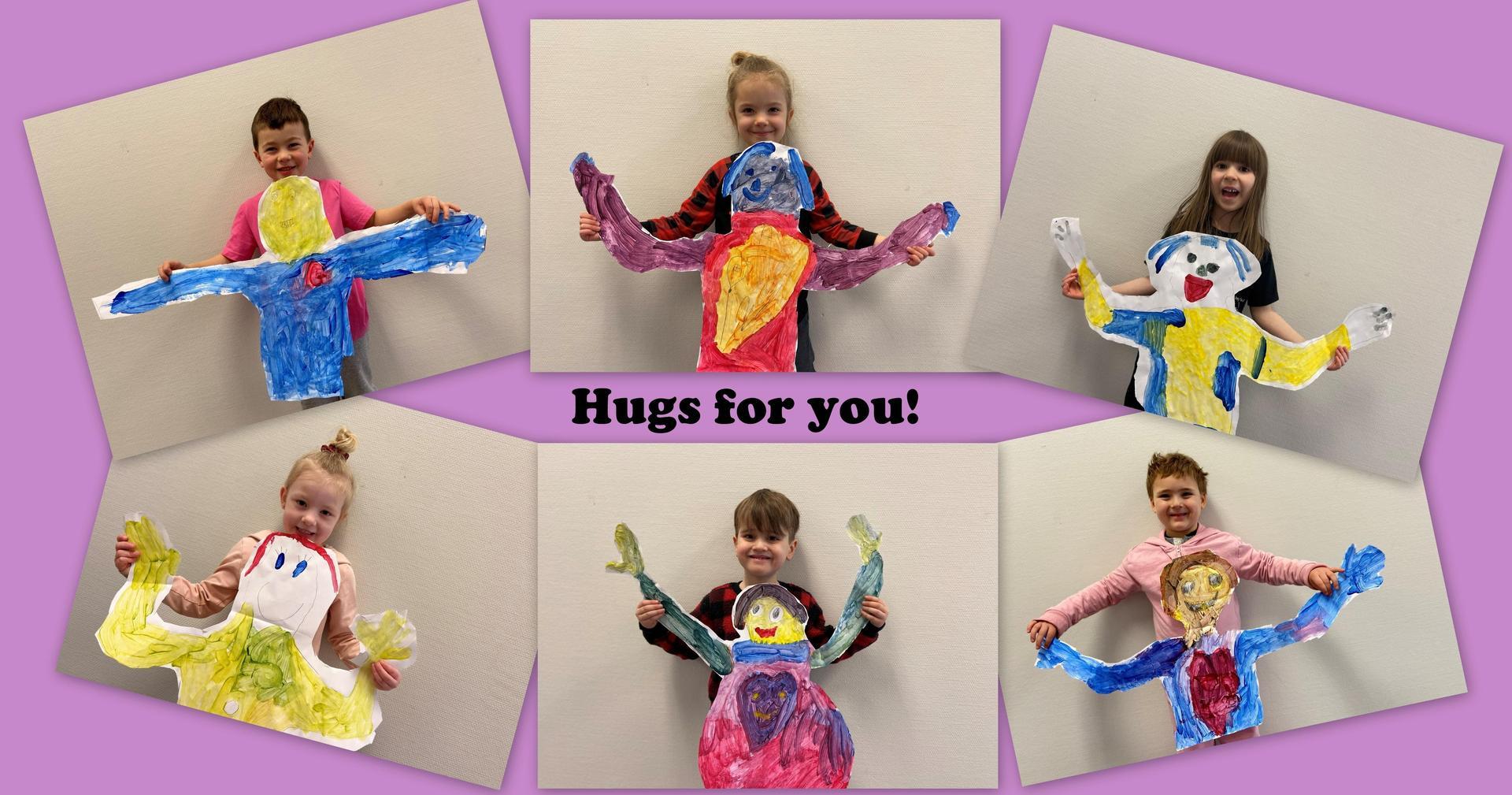 hug collage