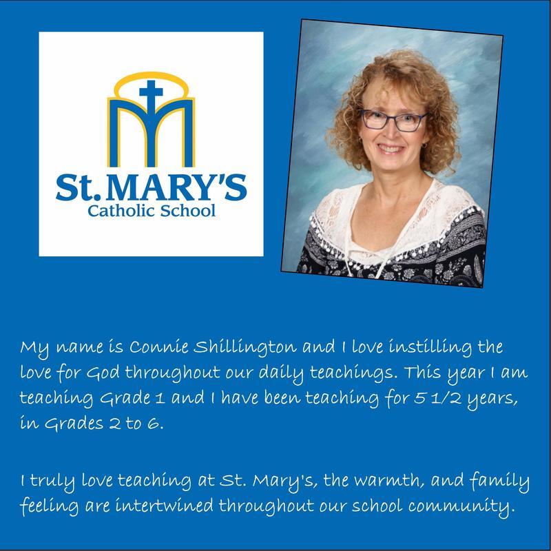 St. Mary's Catholic School: Connie Shillington Featured Photo