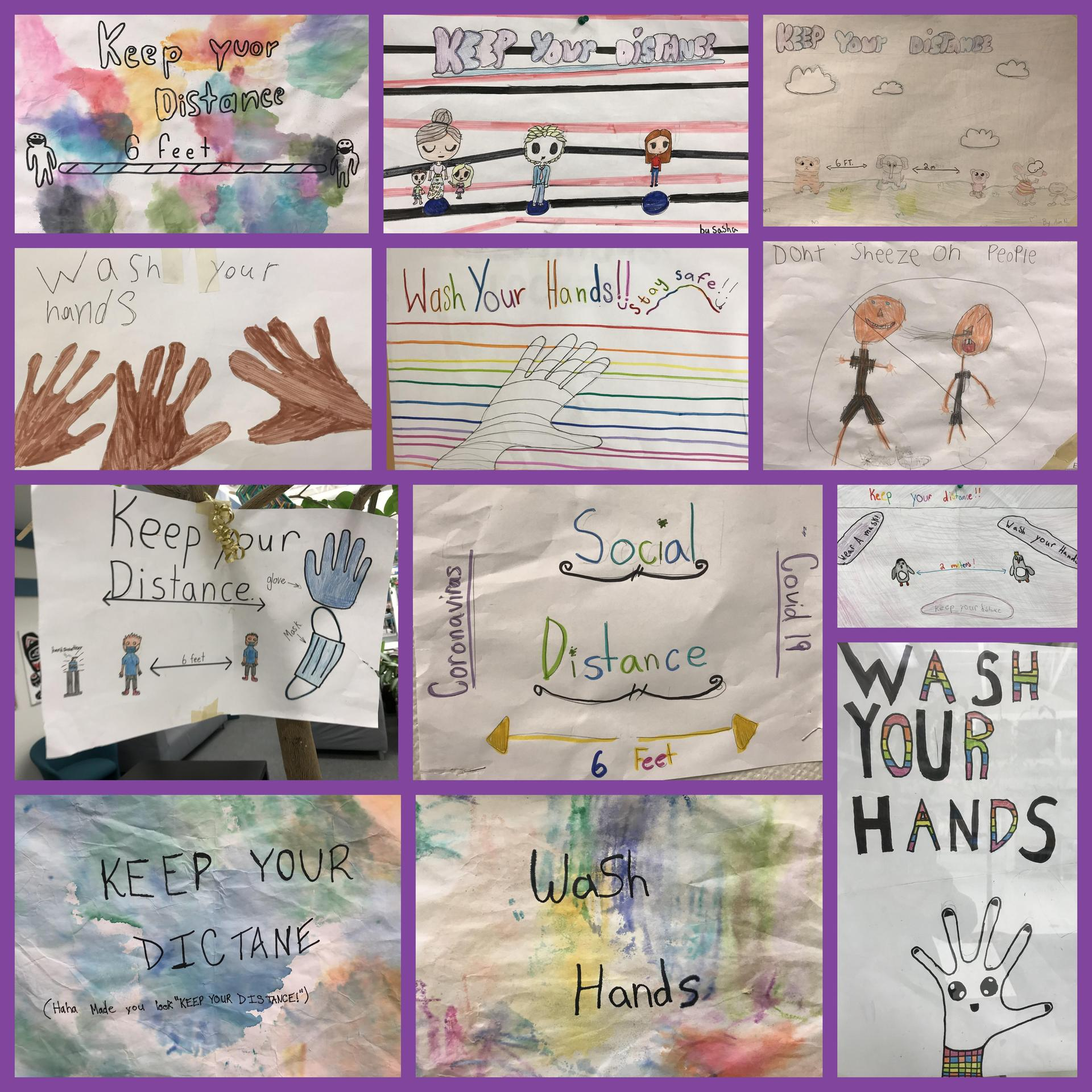 Health and Safety posters by Div 1