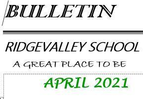 April 2021 Bulletin Featured Photo