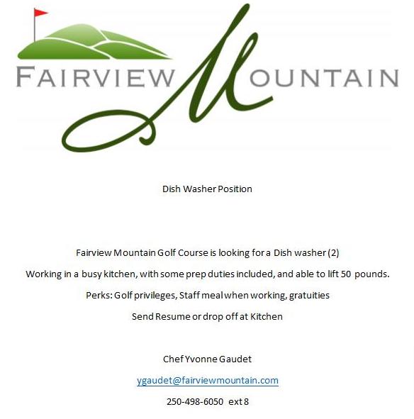 Fairview Job Posting