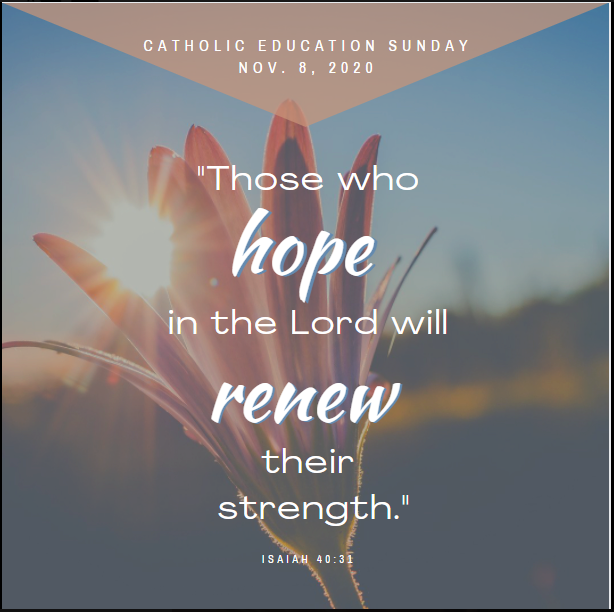 Catholic Education Sunday Featured Photo