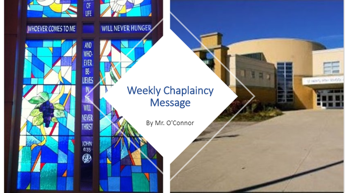 Weekly Chaplaincy Message photo