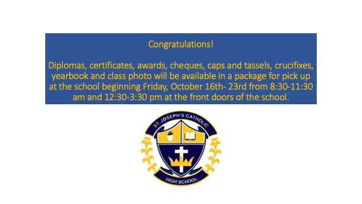 Virtual Graduation Part Two