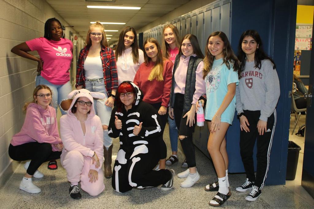 Halloween-Pink Day