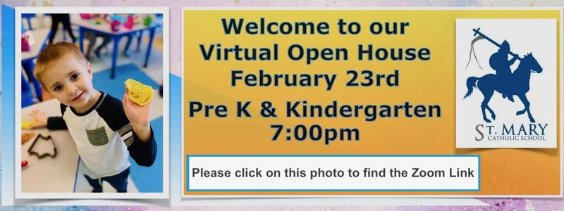 Join Our Virtual Open House For PreK & Kindergarten Featured Photo