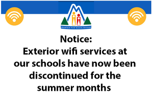 MVSD wifi notice