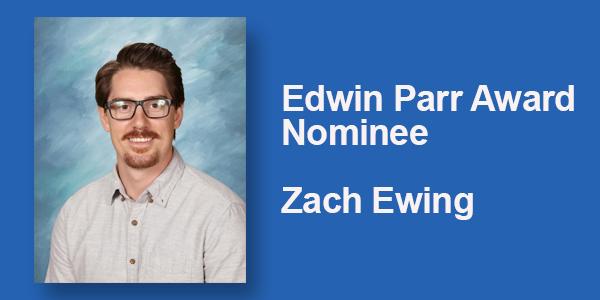 Edwin Parr Award Nominee: Zach Ewing Featured Photo