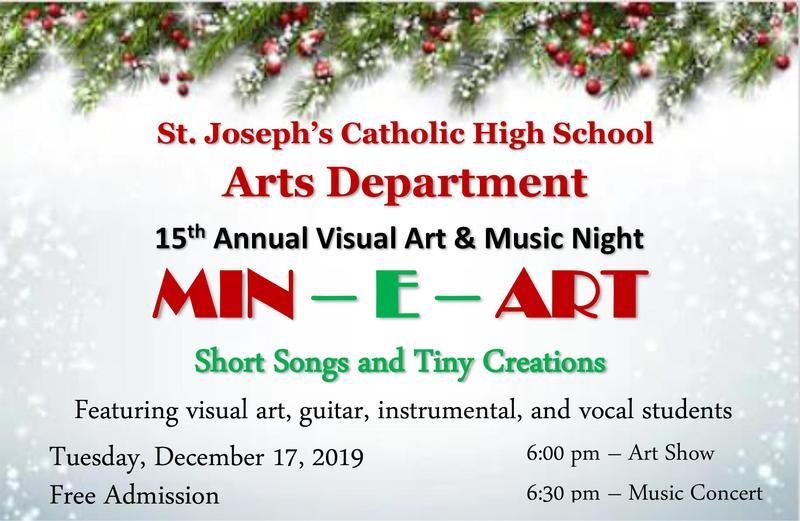 15th Annual Visual Art & Music Night