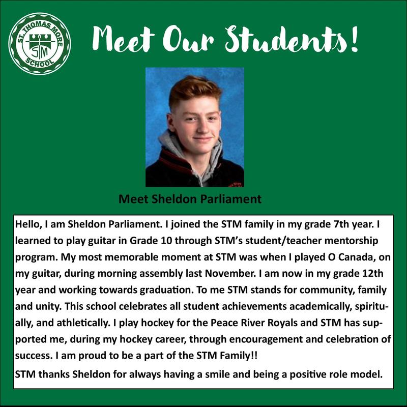 Meet Our Students- Sheldon Parliament! Featured Photo