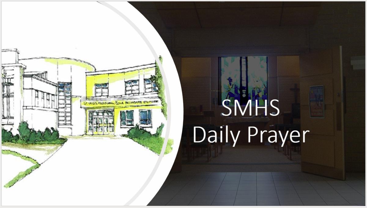 smhs daily prayer