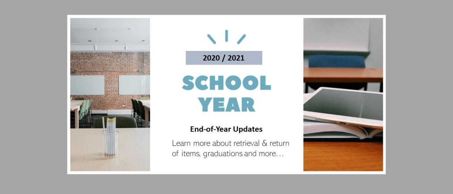 End of year message