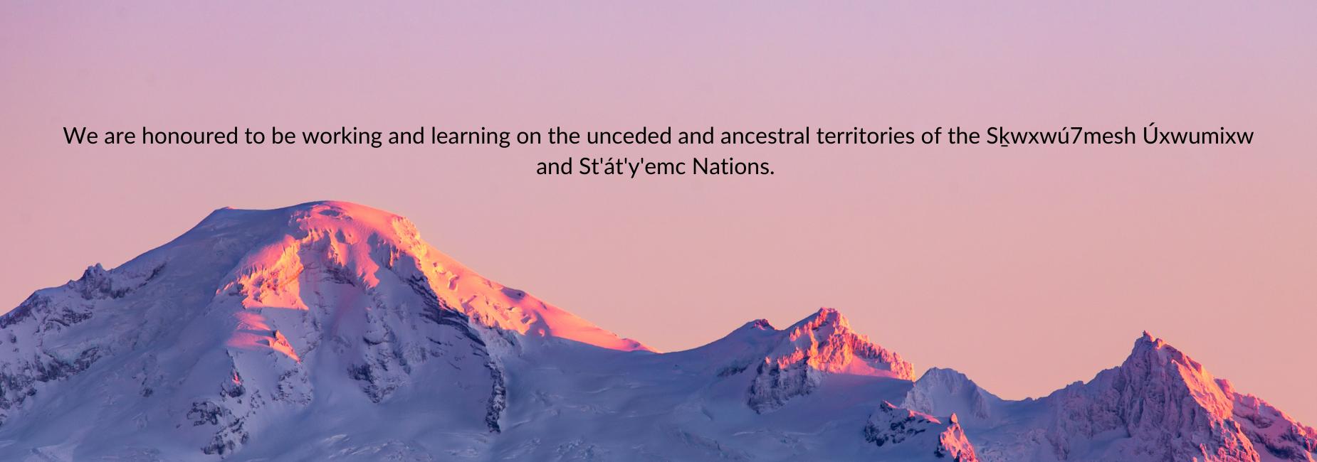 Territory Acknowledgement