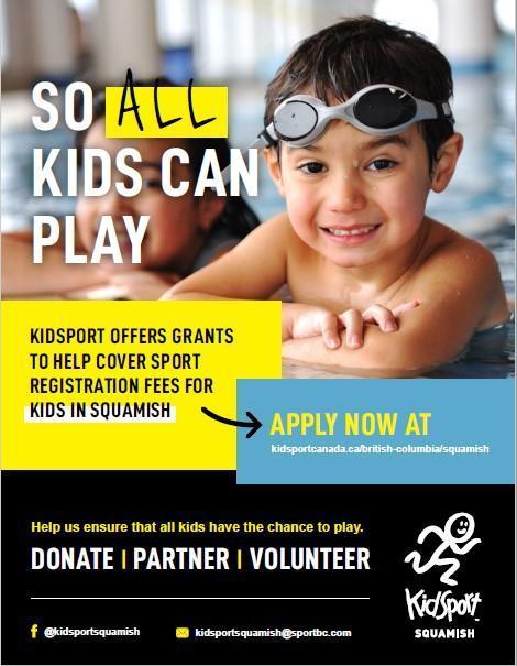Kidsport Squamish Poster