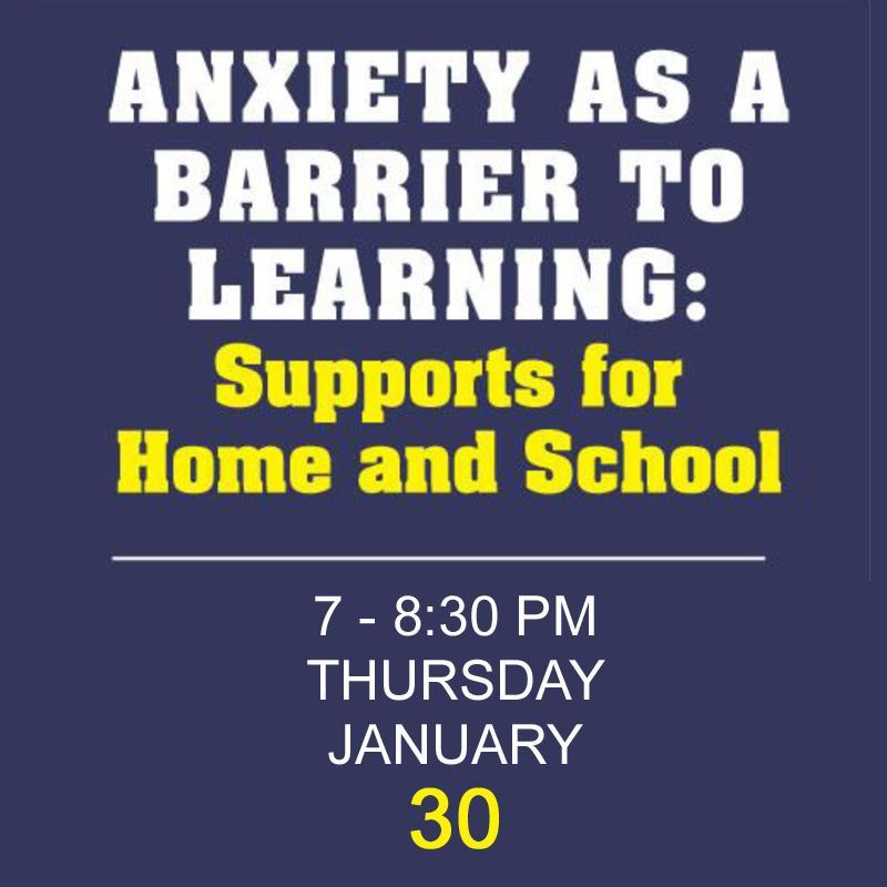 Anxiety as a Barrier to Learning