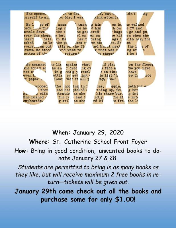 Book Swap - Wednesday, January 29, 2020 Featured Photo