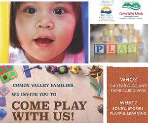 Come Play with Us Featured Photo