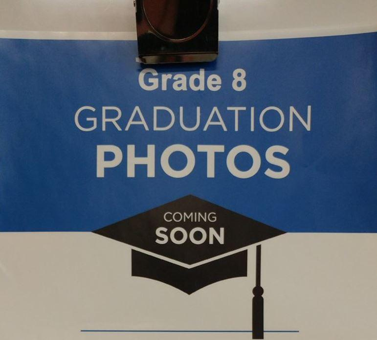Grade 8 Graduation Photos