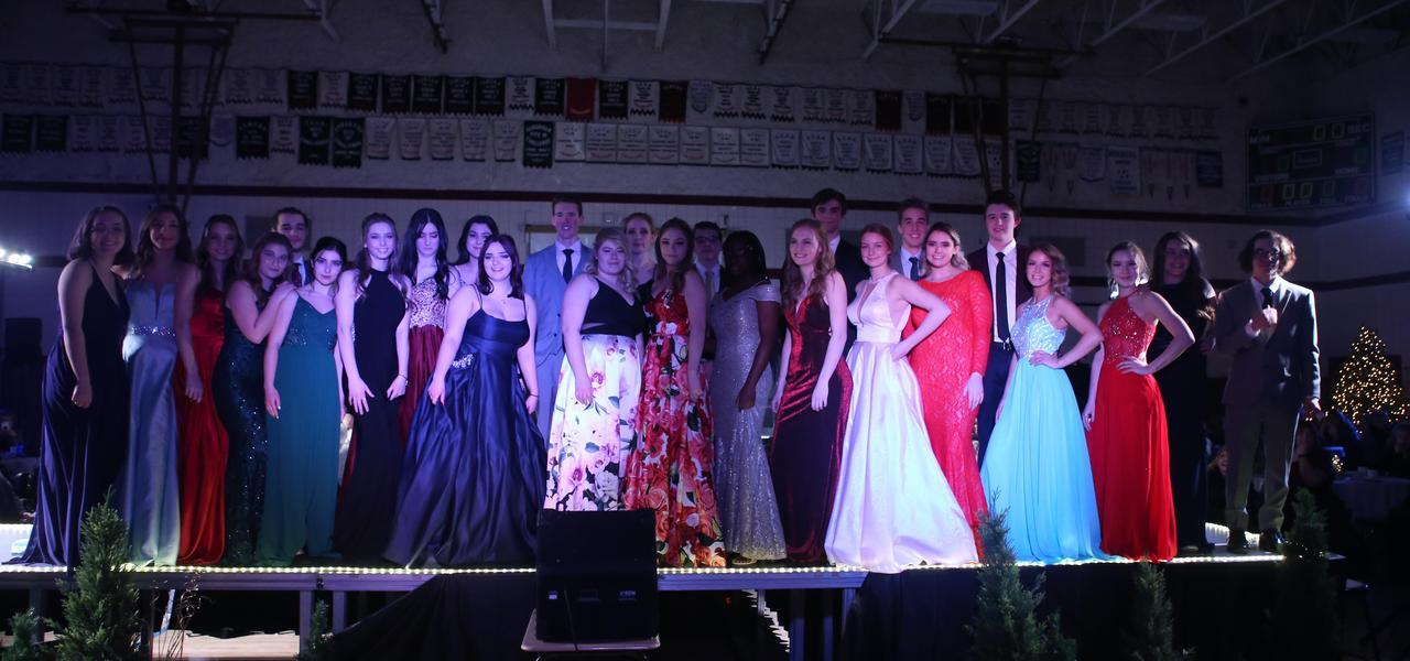 Springfield Collegiate Institute Grad Fashion Show