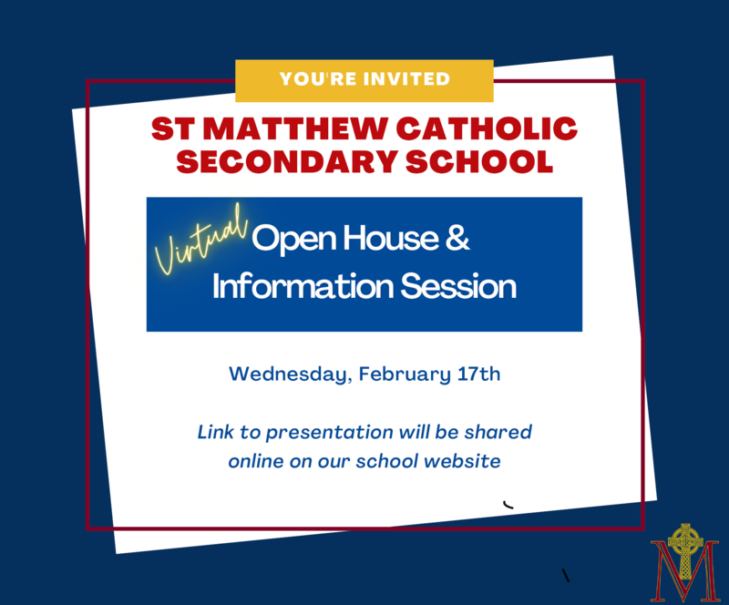 St. Matthew Open House Information Session Featured Photo