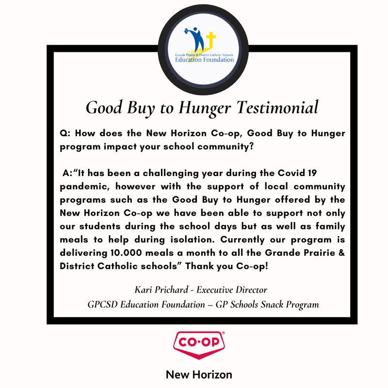 Good Buy to Hunger Featured Photo