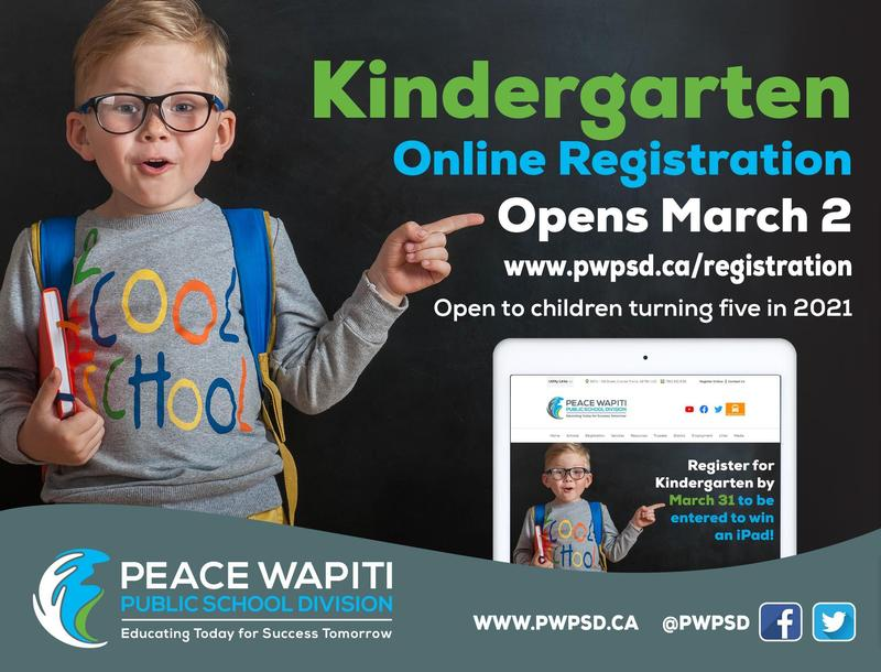 Welcome to Kindergarten – Online registration opens March 2 Featured Photo
