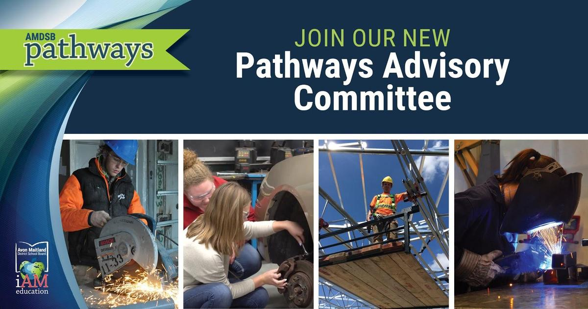 Collection of photos from pathways programs at AMDSB