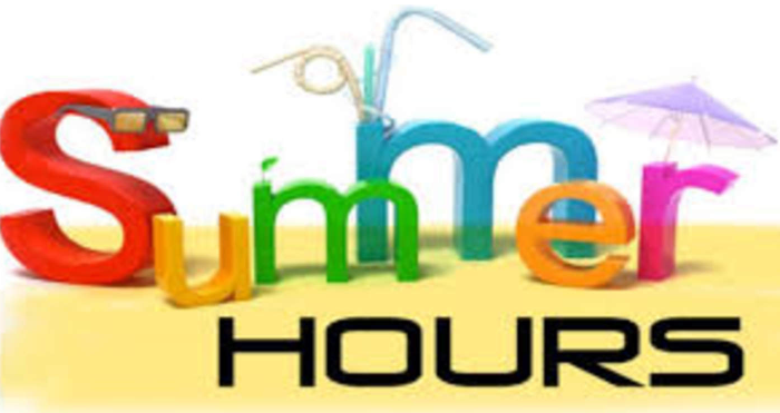 SUMMER HOURS and REGISTRATION INFORMATION Featured Photo