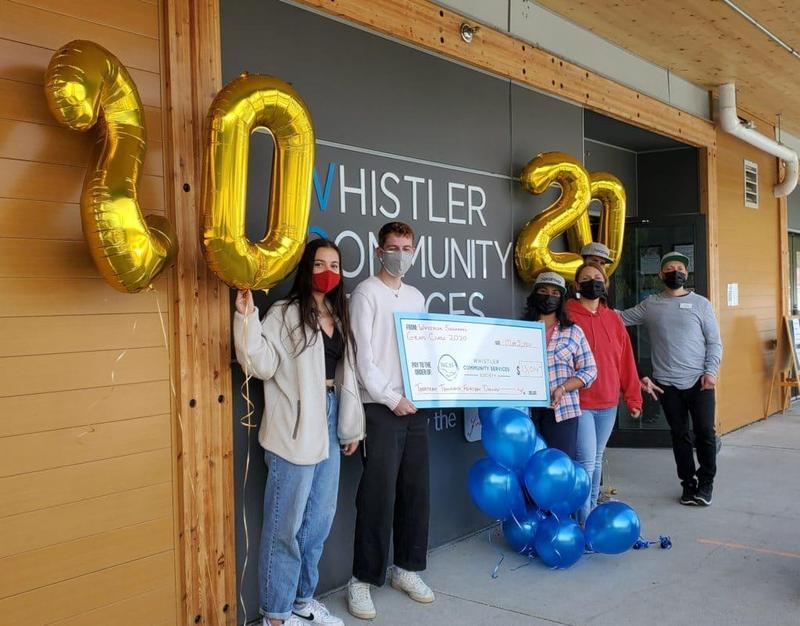 Whistler Secondary School Grad Class of 2020 Donates Over $13,000 Featured Photo