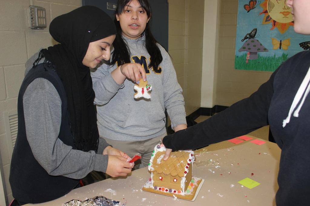 Gingerbread House Decorating Contest