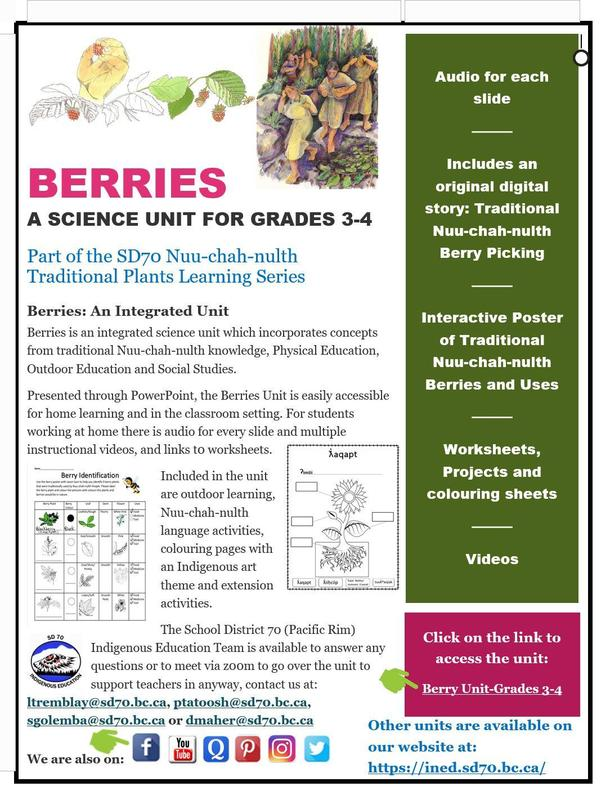 Now Available: Berries- An integrated unit for grade 3 and 4. Featured Photo