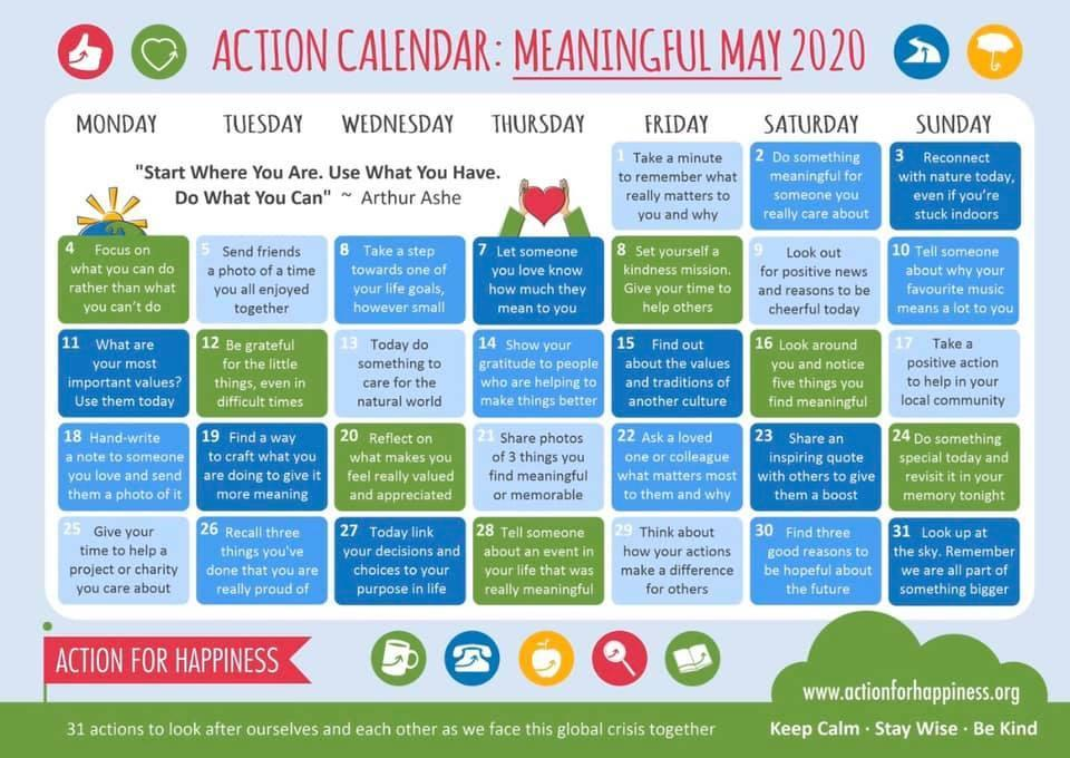Meaningful May
