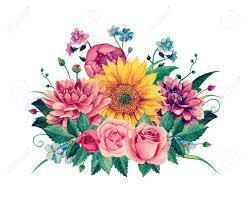 Bouquet of flowers clipart
