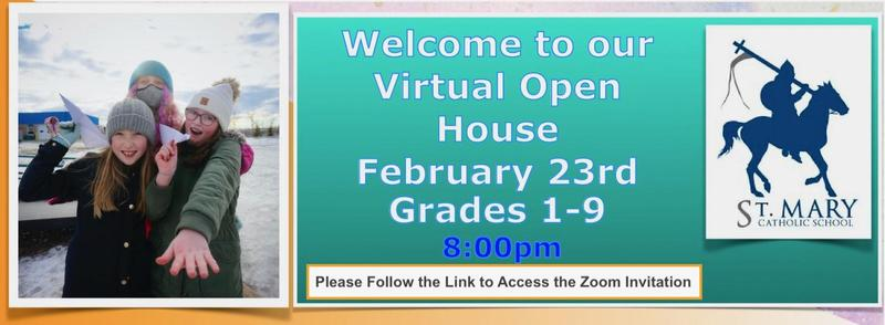 Join Our Virtual Open House For Gr.1-9 Featured Photo