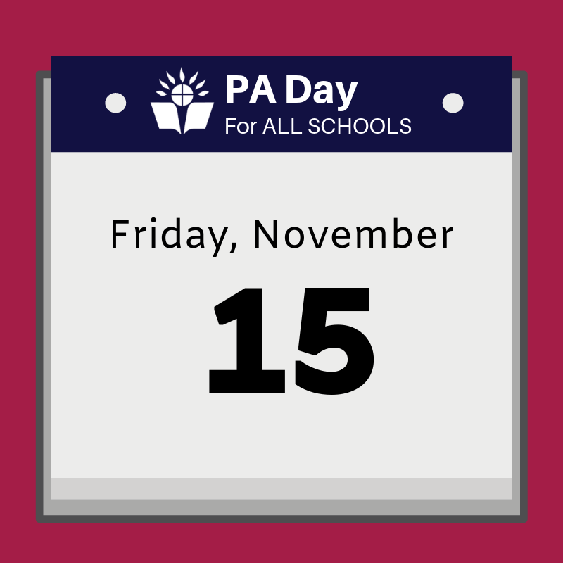 calendar that says Friday, November 15