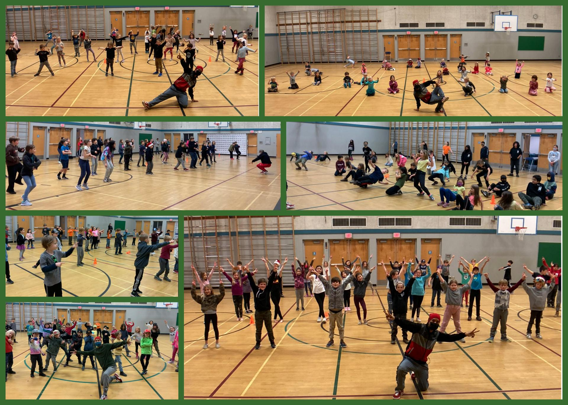 photos from Hip Hop Dance - collage